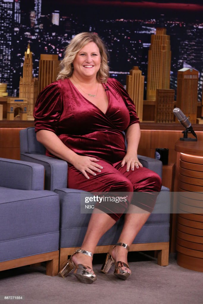 Comedian Bridget Everett during an interview on December 6, 2017 --
