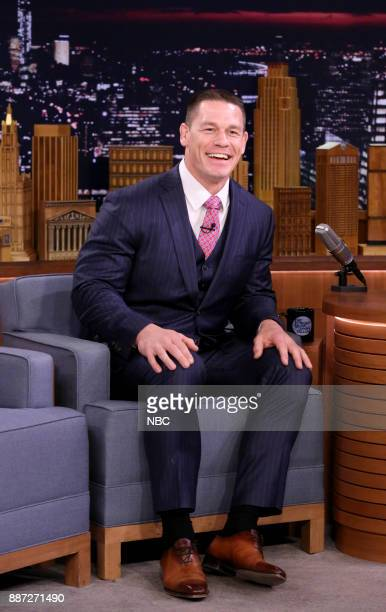 Profession Wrestler John Cena during an interview on December 6 2017