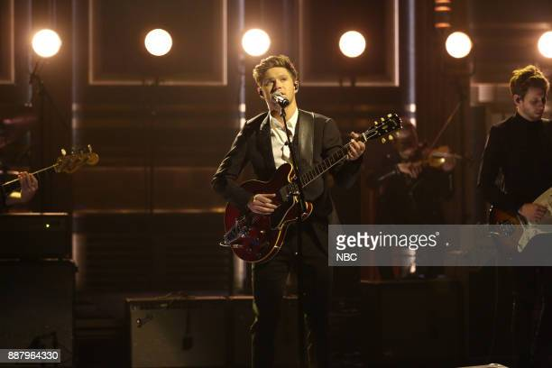 Musical Guest Niall Horan performs 'Too Much to Ask' on December 7 2017