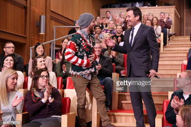 Jimmy Fallon Christmas Sweaters.World S Best 12 Days Of Christmas Sweaters Stock Pictures