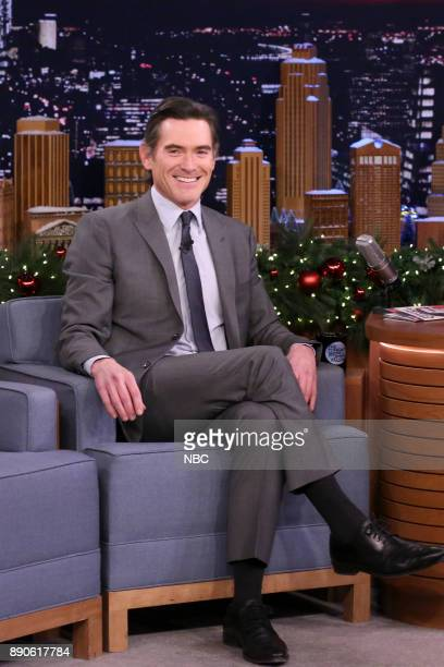 Actor Billy Crudup during an interview on December 11 2017