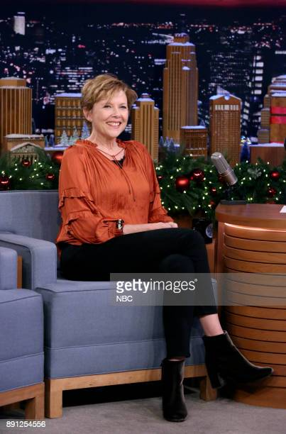 Actress Annette Bening during an interview on December 12 2017