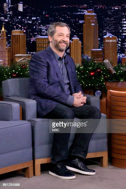 Producer/Writer/Actor Judd Apatow during an interview on December 12 2017