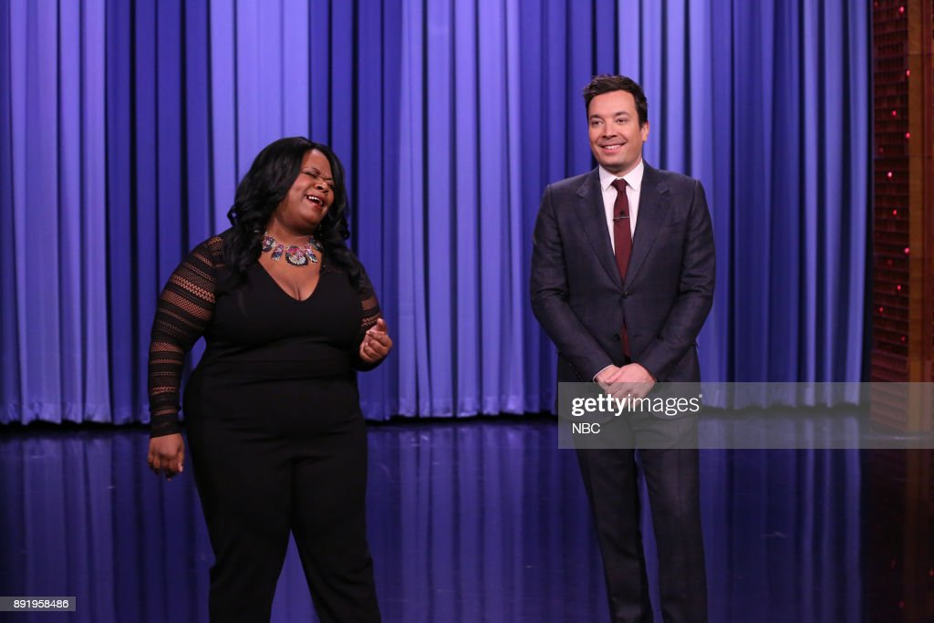 "NBC's ""Tonight Show Starring Jimmy Fallon"" with Guests Michael Shannon, Alison Brie, Jaboukie Young-White, Sit-In: Jamaaladeen Tacuma"