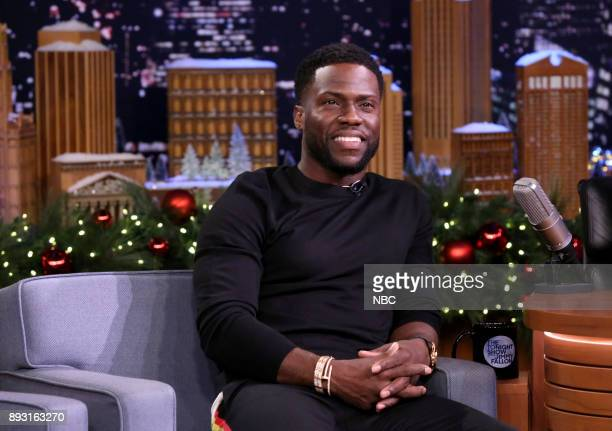Comedian/Actor Kevin Hart during an interview on December 14 2017