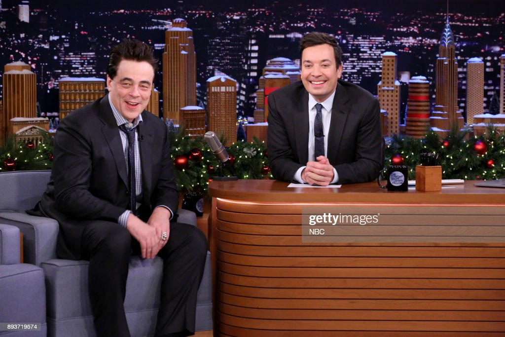 "NBC's ""Tonight Show Starring Jimmy Fallon"" with Guests Benicio Del Toro, Ruby Rose, Michael McDonald"