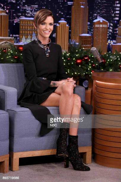 Actress Ruby Rose during an interview on December 15 2017