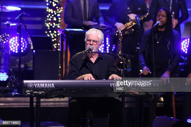 Musical Guest Michael McDonald performs Find It In Your Heart on December 15 2017