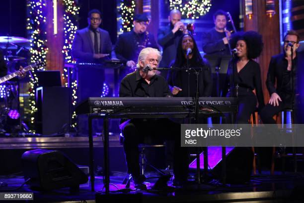Musical Guest Michael McDonald performs 'Find It In Your Heart' on December 15 2017