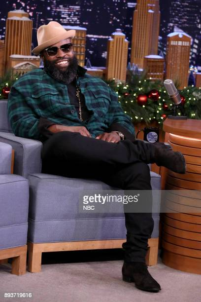 Tariq Black Thought Trotter during an interview on December 15 2017