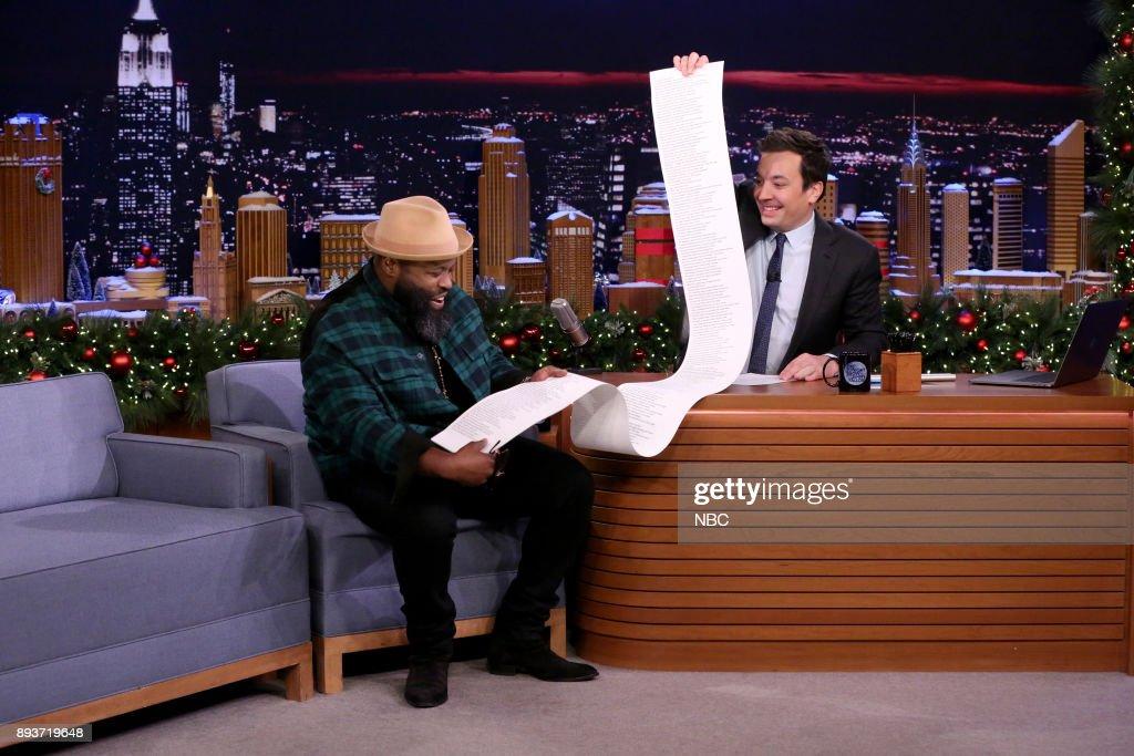 "NBC's ""Tonight Show Starring Jimmy Fallon"" with Guests Benicio Del Toro, Ruby Rose, Michael McDonald"