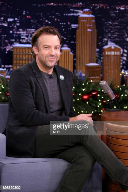 Actor Jason Sudeikis during an interview on December 21 2017