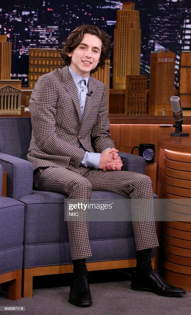 "NBC's ""Tonight Show Starring Jimmy Fallon"" with guests Saoirse Ronan, Timothee Chalamet"