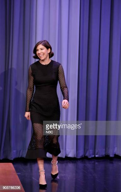 Actress Carrie Brownstein on January 16 2018