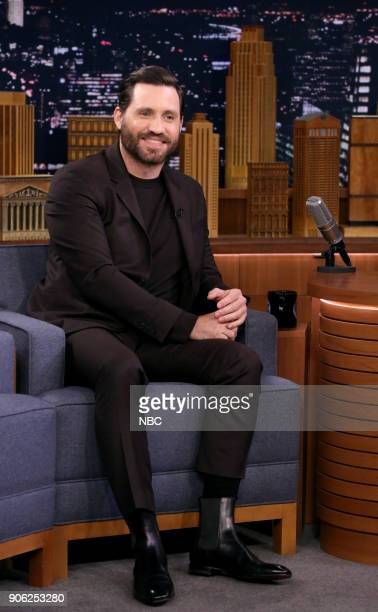 Actor Edgar Ramirez during an interview on January 17 2018
