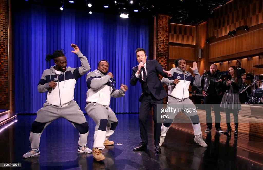 "NBC's ""Tonight Show Starring Jimmy Fallon"" with guests Jessica Chastain, Ricky Martin, Franz Ferdinand"