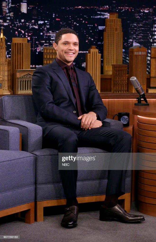 "NBC's ""Tonight Show Starring Jimmy Fallon"" with guests Trevor Noah, Dakota Fanning, Jeff Dye"