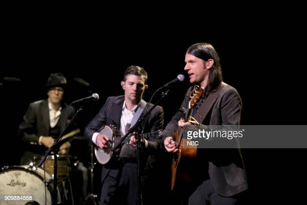 Musical Guest The Avett Brothers perform 'No Hard Feelings' on January 24 2018