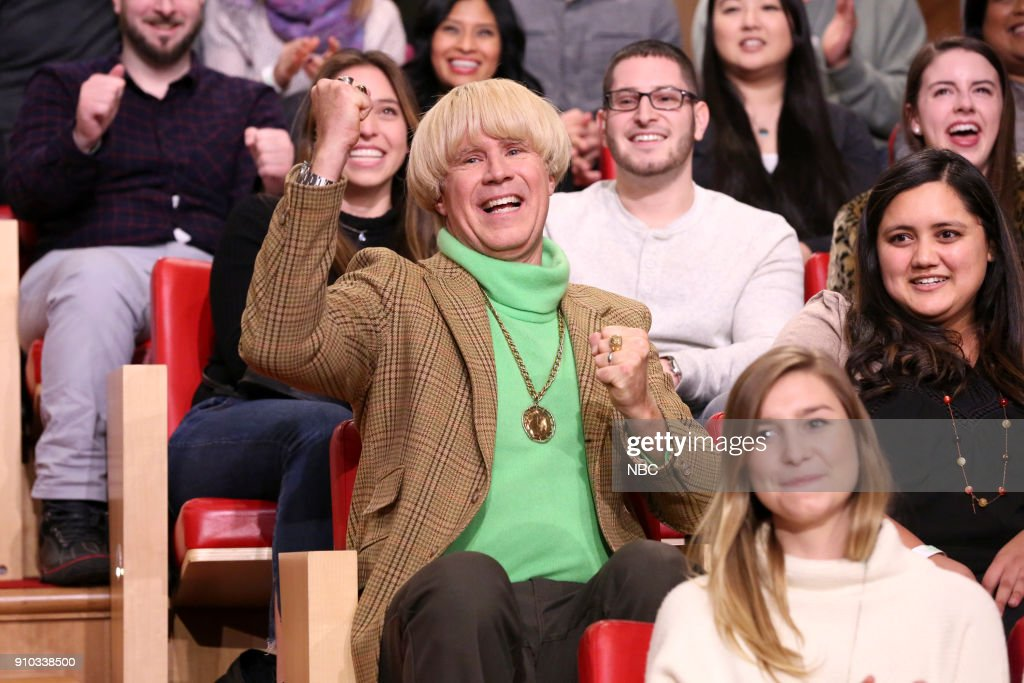 Actor/Comedian Will Ferrell during 'Peter and His Heckler' on January 25, 2018 --
