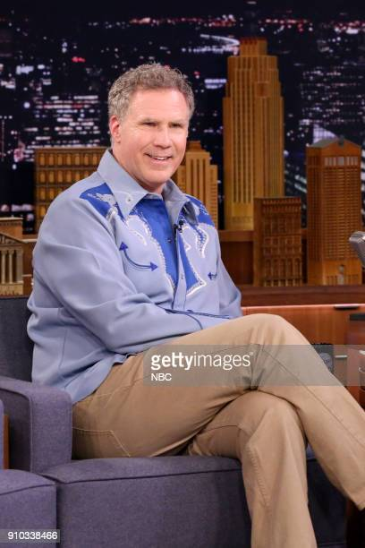 Actor/Comedian Will Ferrell on January 25 2018