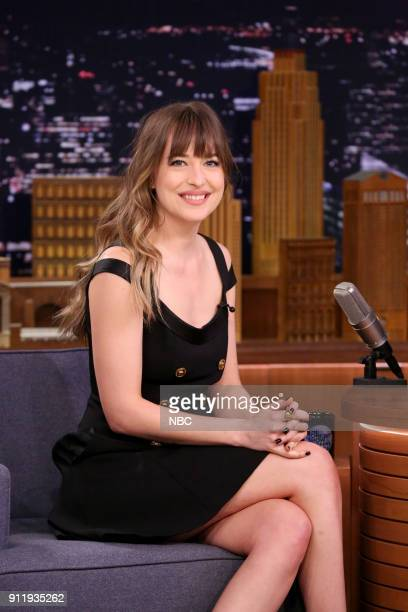 Actress Dakota Johnson on January 29 2018