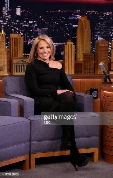 Katie Couric during an interview on January 31 2018