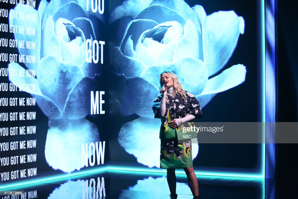 Rita Ora performs 'For You' on January 31, 2018 --