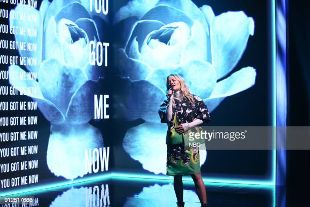 Rita Ora performs 'For You' on January 31 2018