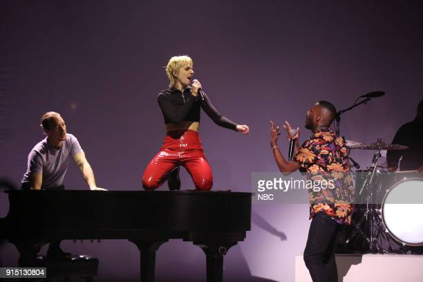 Musical Guest Diplo ft MØ and Goldlink perform 'Get It Right' on February 6 2018