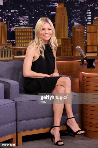 Actress Sienna Miller during an interview on February 7 2018