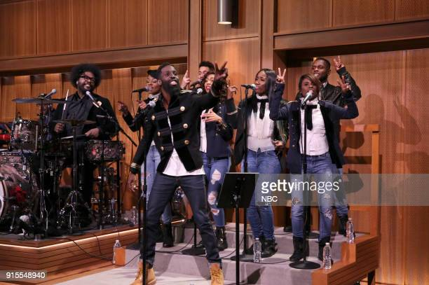 SitIn Tye Tribbett performs on February 7 2018