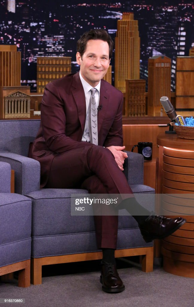 "NBC's ""Tonight Show Starring Jimmy Fallon"" with guests Paul Rudd, Laurie Metcalf"