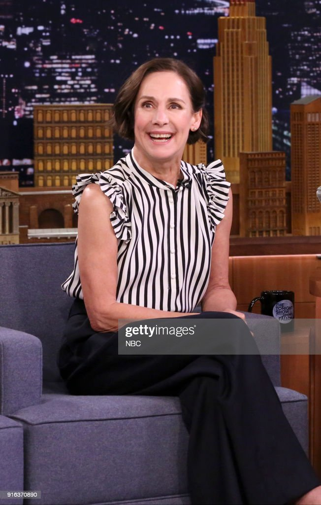 """NBC's """"Tonight Show Starring Jimmy Fallon"""" with guests Paul Rudd, Laurie Metcalf"""