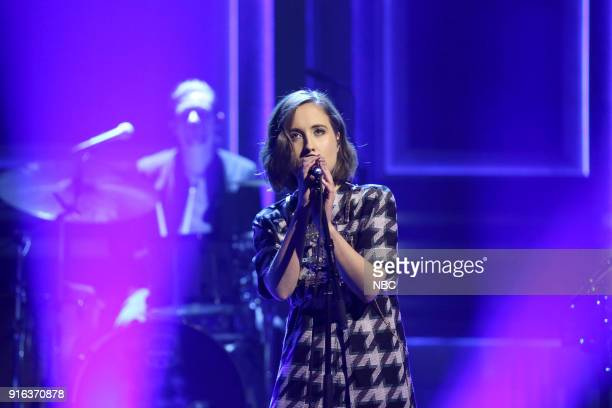 Musical Guest Alice Merton performs 'No Roots' on February 9 2018