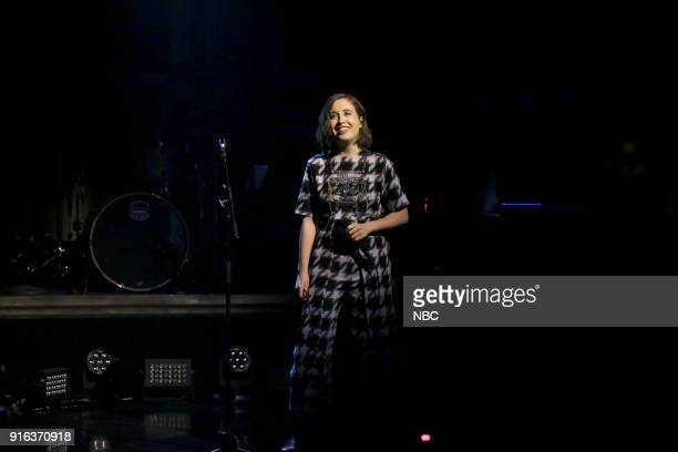 Musical Guest Alice Merton performs No Roots on February 9 2018