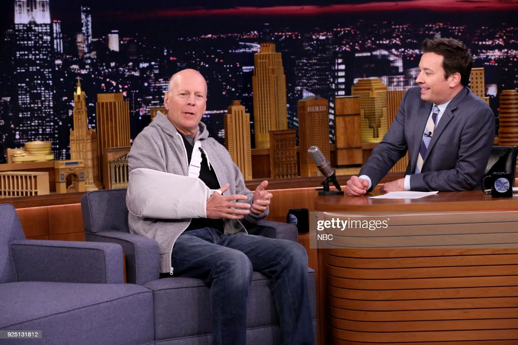 "NBC's ""Tonight Show Starring Jimmy Fallon"" with 	Bruce Willis, Retta, Towkio"