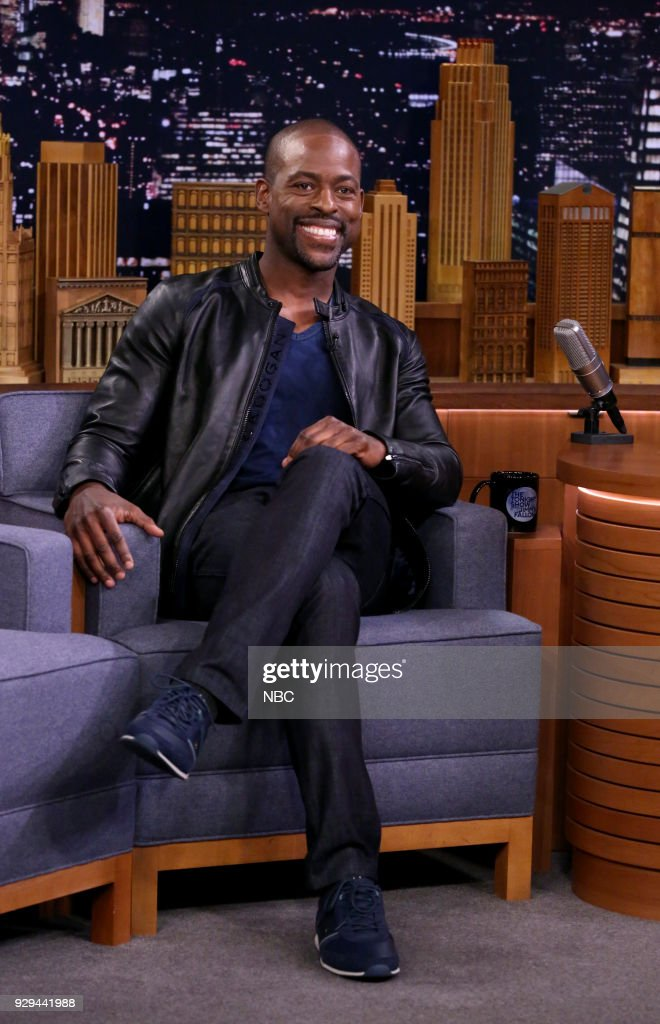 Actor Sterling K. Brown during an interview on March 8, 2018 --