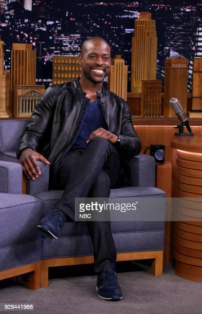 Actor Sterling K Brown during an interview on March 8 2018