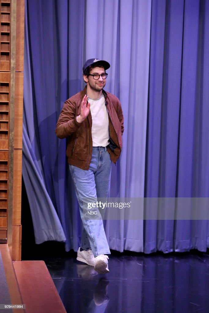 Musician Jack Antonoff during an interview on March 8, 2018 --
