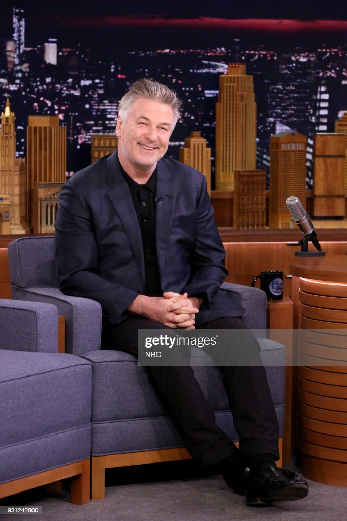 Actor Alec Baldwin during an interview on March 12, 2018 --