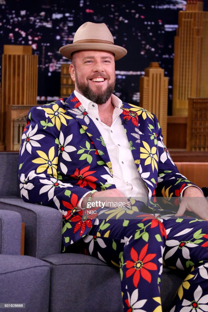 Actor Chris Sullivan during an interview on March 13, 2018 --