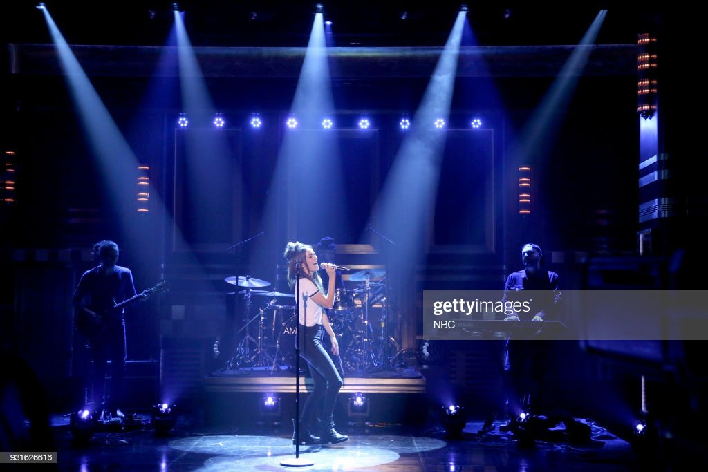 Musical Guest Amy Shark performs 'Adore You' on March 13, 2018 --