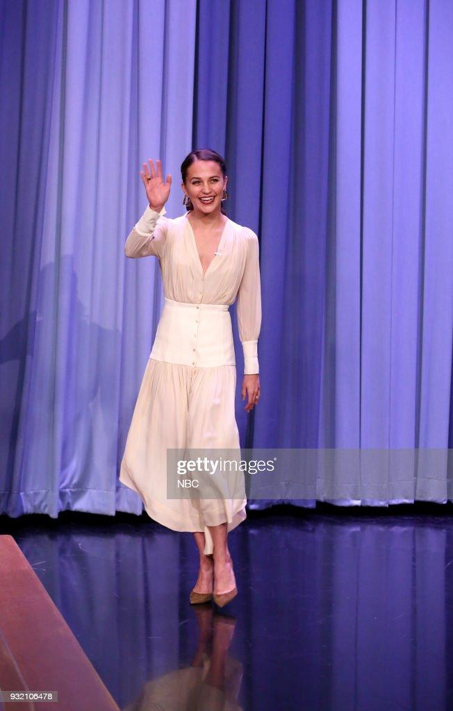 "NBC's ""Tonight Show Starring Jimmy Fallon"" with Alicia Vikander, Jim Sturgess, Ali Uchis ft. Tyler the Creator"