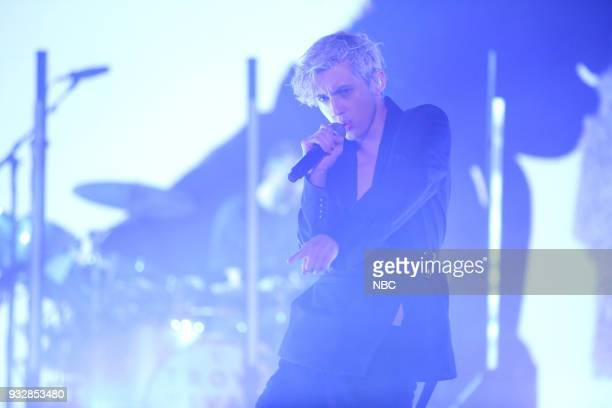 Singer Troye Sivan performs My My My on March 15 2018