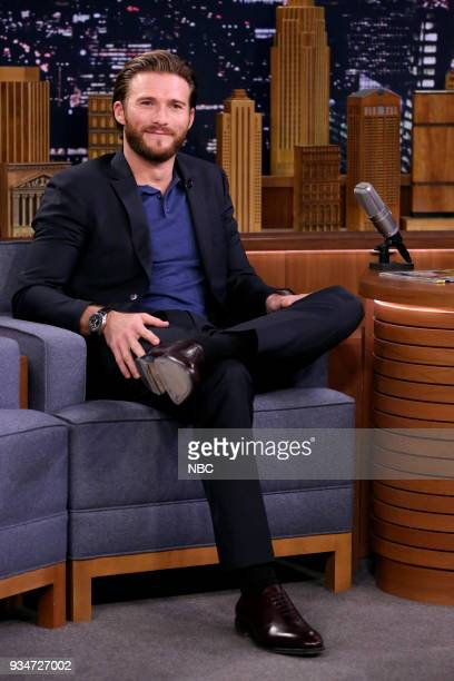 Actor Scott Eastwood during an interview on March 19 2018