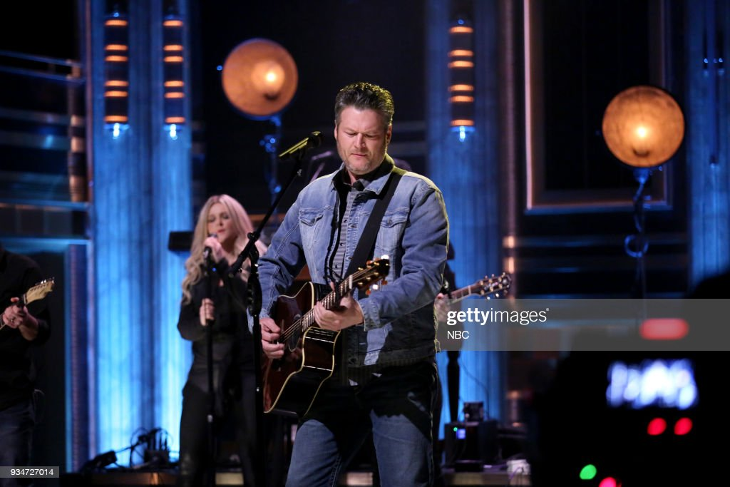 "NBC's ""Tonight Show Starring Jimmy Fallon"" with 			Blake Shelton, Scott Eastwood"