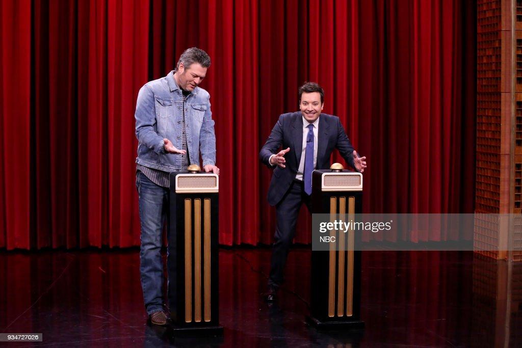 "NBC's ""Tonight Show Starring Jimmy Fallon"" with Blake Shelton, Scott Eastwood"