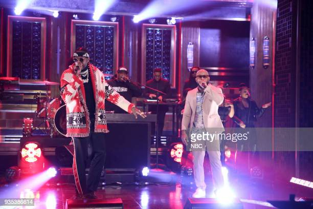 Musical Guest PRhyme performs 'Flirt' featuring 2 Chainz on March 20 2018