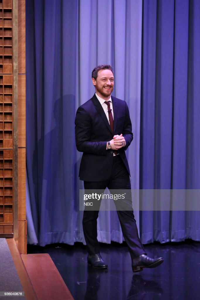 "NBC's ""Tonight Show Starring Jimmy Fallon"" with 					James McAvoy, Zoey Deutch"