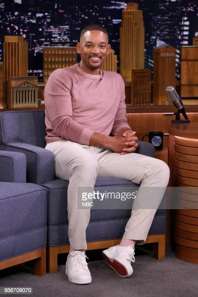 Actor Will Smith during an interview on March 22 2018